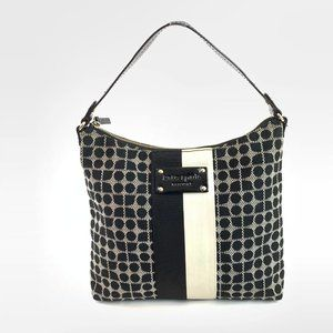 Kate Spade Classic Noel Dot Purse black and white